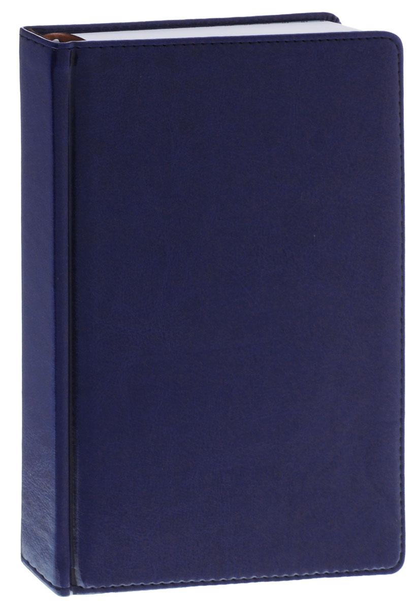 Index Ежедневник Nature недатированный 168 листов цвет синий0703415Недатированный ежедневник Index Nature - это один из удобных способов систематизации всех предстоящих событий и незаменимый помощник для каждого.Обложка выполнена из высококачественной искусственной кожи с прострочкой по периметру. Внутренний блок состоит из 336 страниц и выполнен из белой офсетной бумаги с закругленными отрывными уголками. Ежедневник содержит страницу для заполнения личных данных, календарь с 2015 по 2018 гг., междугородные и международные телефонные коды, телефонные коды России, размеры одежды, единицы измерения, штрих-коды, а также имеется ляссе для быстрого поиска нужной страницы. На последних страницах ежедневника расположена телефонная книга. Ежедневник надежно скреплен сшитым переплетом.С таким ежедневником все планы и записи всегда будут у вас перед глазами, что позволит легко ориентироваться в графике дел, событий и встреч.