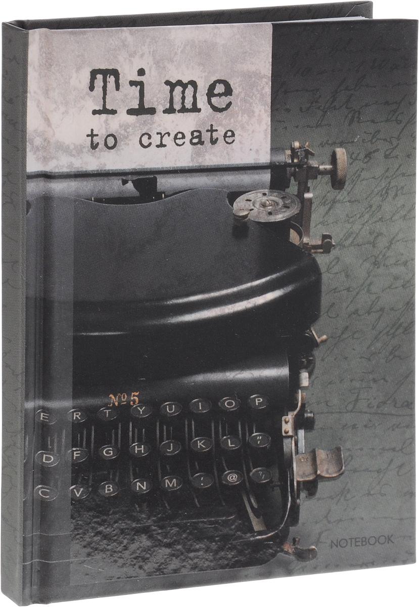 Listoff Записная книжка Время творчества 80 листов в клетку80ККт5Aпс_11537Записная книжка Listoff Время творчества - незаменимый атрибут современного человека, необходимый для рабочих и повседневных записей в офисе и дома. Записная книжка содержит 80 листов формата А6 в клетку без полей. Обложка, выполненная из плотного картона, украшена изображением печатной машинки. Внутренний блок изготовлен из высококачественной плотной бумаги, что гарантирует чистоту записей и отсутствие клякс.Книга для записей Listoff Время творчества станет достойным аксессуаром среди ваших канцелярских принадлежностей. Она подойдет как для деловых людей, так и для любителей записывать свои мысли, рисовать скетчи, делать наброски.
