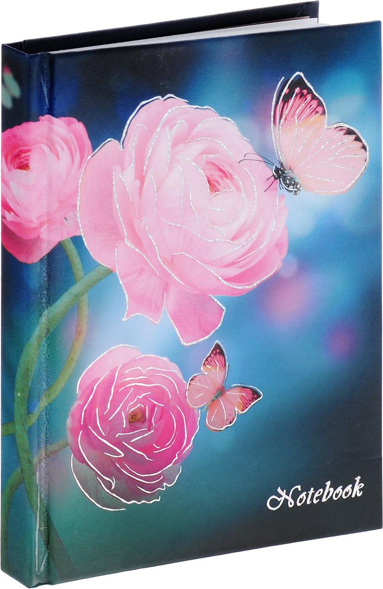 Listoff Записная книжка Розовые грезы 96 листов в клетку72523WDЗаписная книжка Listoff Розовые грезы - важный атрибут современной женщины, необходимый для повседневных записей.Записная книжка содержит 96 листов формата А6 в клетку без полей. На обложке, выполненной из плотного картона, изображены розы и бабочки. Внутренний прошитый блок изготовлен из высококачественной плотной бумаги, что гарантирует чистоту записей и полное отсутствие потери листов. Первая страничка блокнота представляет собой анкету для записи личных данных.Книга для записей станет достойным аксессуаром среди ваших канцелярских принадлежностей. Она подойдет для любителей записывать свои мысли, делать наброски.