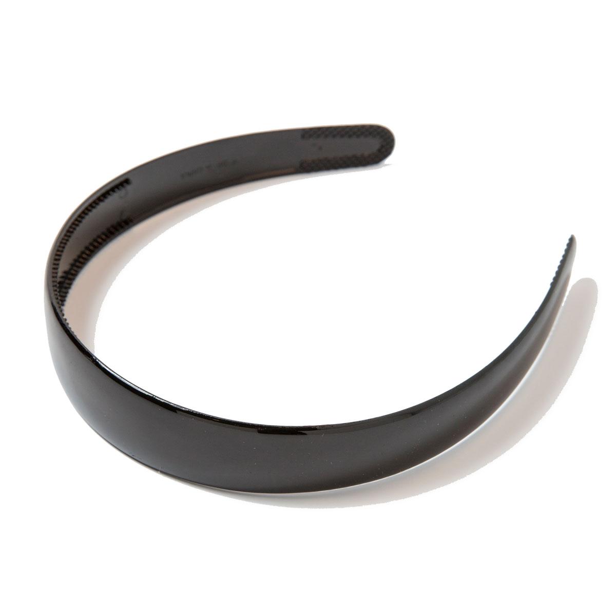 Ободок для волос Mitya Veselkov, цвет: черный. OBOD1BLASatin Hair 7 BR730MNПравильно подобранный к цветовой гамме одежды, ободок сделает вас стильной и женственной, подчеркнет красивые черты вашего лица.Лаконичный ободок для волос Mitya Veselkov выполнен из прочного пластика.Ободок позволит не только убрать непослушные волосы со лба, но и придать вашему образу романтичности и очарования.