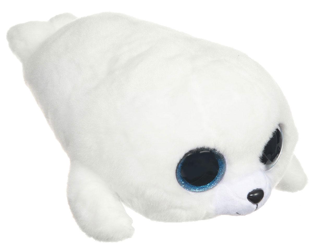 TY Мягкая игрушка Белый тюлень Icy 19 см