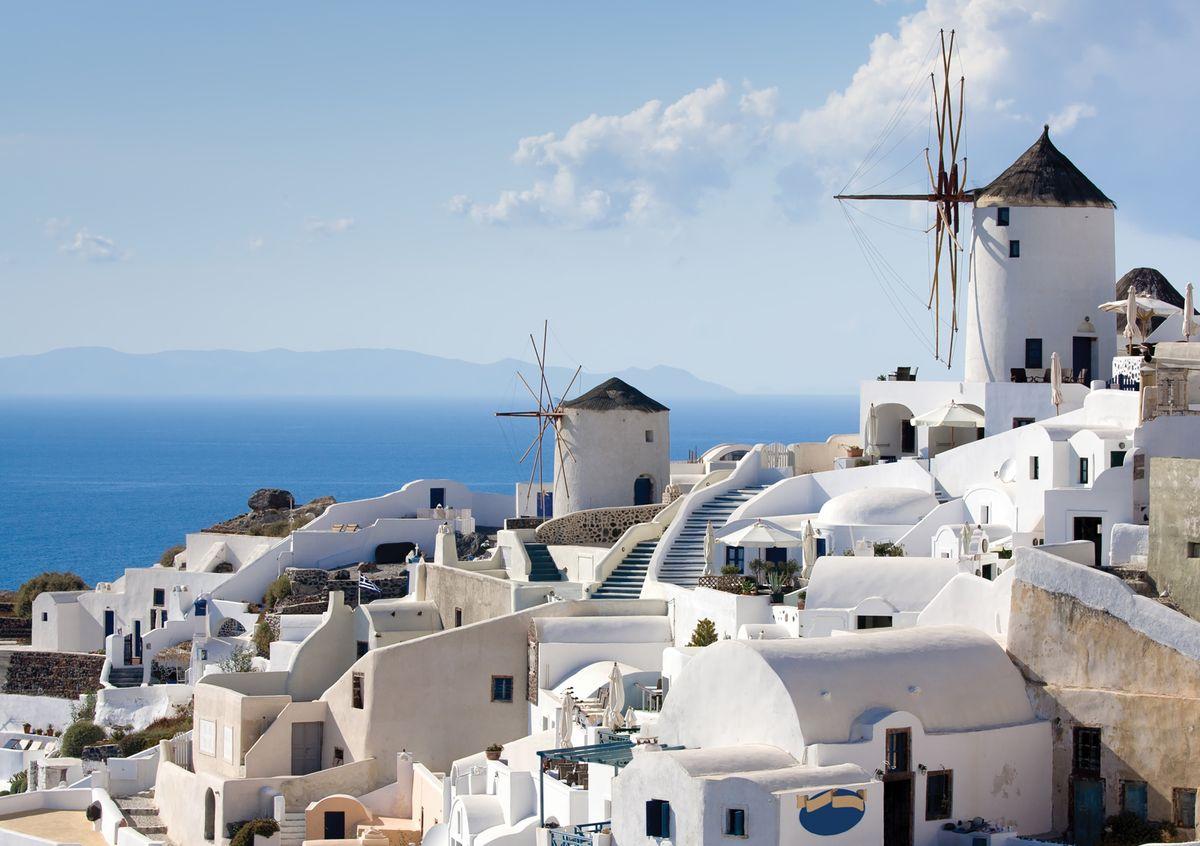 Фотообои Decoretto Греция, 360 х 254 см97526Фотообои Decoretto Греция позволят создать неповторимый облик помещения, в котором они размещены. Фотообои наносятся на стены тем же способом, что и обычные обои. Благодаря превосходной печати и высококачественной флизелиновой основе такие обои будут радовать вас долгое время. Фотообои снова вошли в нашу жизнь, став модным направлением декорирования интерьера. Выбрав правильную фактуру и сюжет изображения можно добиться невероятного эффекта живого присутствия.
