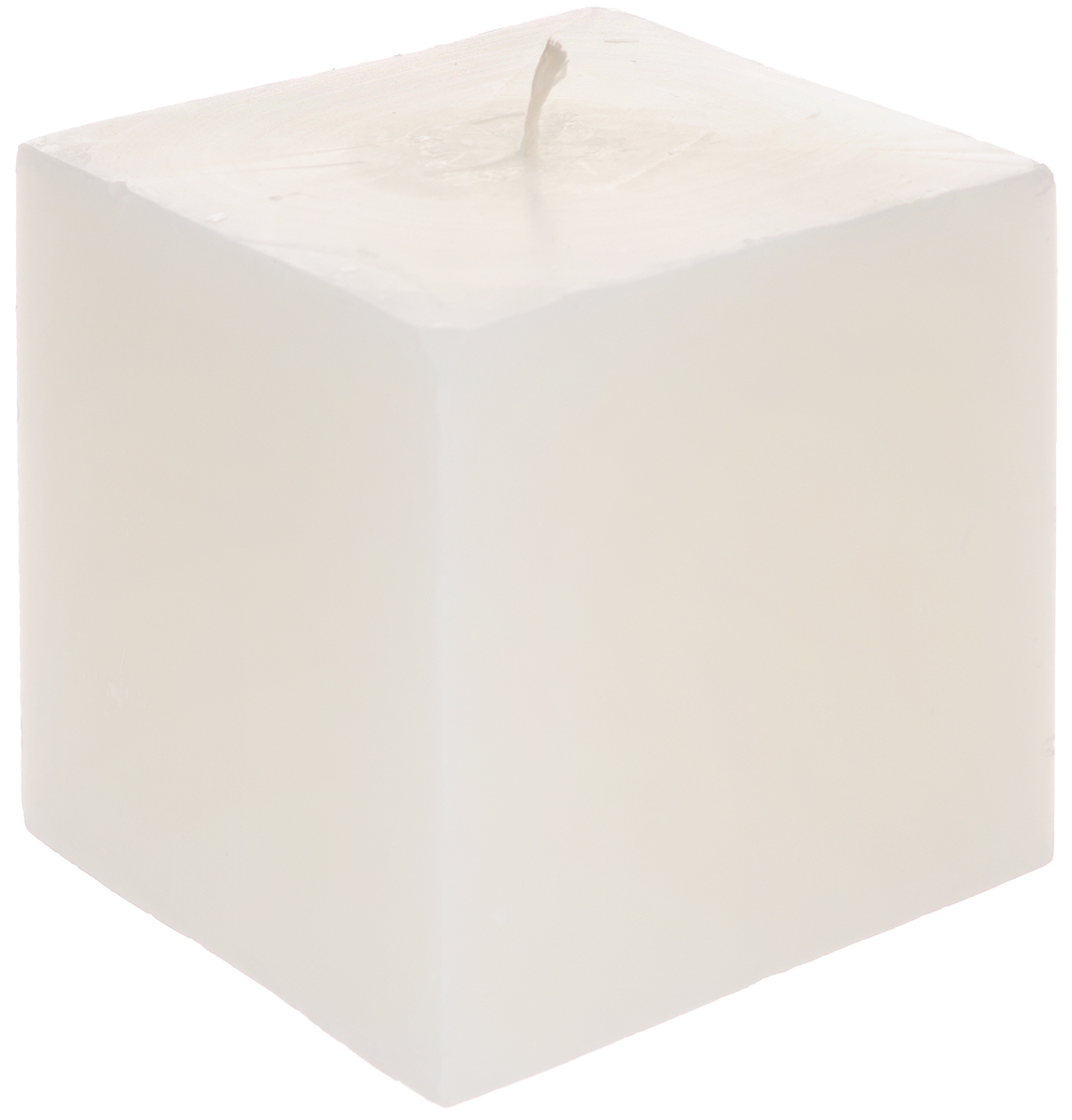 Свеча декоративная Proffi Квадрат, цвет: молочный, 9,5 х 9,5 х 9,5 см12723Свеча Proffi Квадрат выполнена из парафина и стеарина в классическом стиле. Изделие порадует вас ярким дизайном. Такую свечу можно поставить в любое место, и она станет ярким украшением интерьера. Свеча Proffi Квадрат создаст незабываемую атмосферу, будь то торжество, романтический вечер или будничный день.