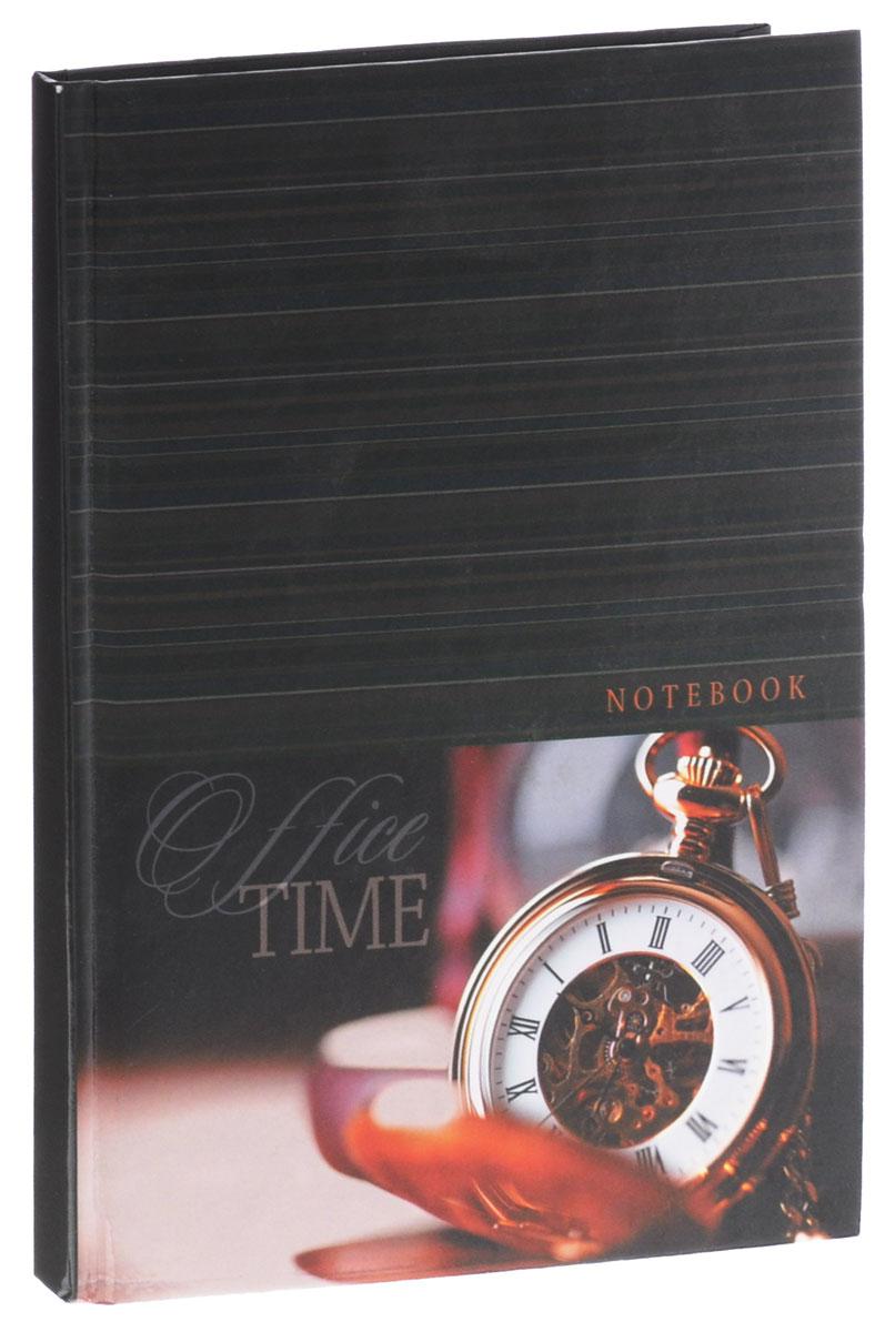 Listoff Записная книжка Время 80 листов в клетку формат А5PP-301Записная книжка Listoff Время - очень важный атрибут современного человека, необходимый для рабочих и повседневных записей в офисе и дома.Обложка выполнена из плотного картона, что позволяет делать записи на ходу. Оформлена обложка изображением часов. Записная книжка содержит 80 листов формата А5 в клетку. Записная книжка станет достойным аксессуаром среди ваших канцелярских принадлежностей. Она пригодится как для деловых людей, так и для любителей записывать свои мысли, писать мемуары или делать наброски новых стихотворений.