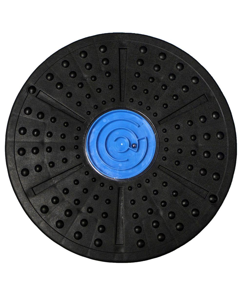 Диск балансировочный Starfit, цвет: синий. FA-202SF 0085Диск балансировочный FA-202 синий, -это балансировочный диск, который предназначен дляразвития вестибулярного аппарата, тренировки мышц (камбаловидных, икроножных, задней поверхности бедер, ягодиц, мышц кора (пресса)). Лабиринт поможет не только получать удовольствие от тренировочного процесса, но и сделает время тренировки веселым и увлекательным.Тренировка нане только способствуетувеличению физической силы,но иразвивает чувство равновесия,координацию движений и контроль человека над собственным телом, что является неотъемлемой частью гармоничного развития.Основные характеристики:Размер, см:нетДиаметр, см: 39 х 6Вес, кг:1,38Вес с упаковкой, кг:1,7Материал:ПВХЦвет:черный, синийДополнительные характеристики:Производство:КНРОсобенности:имеет интересную встроенную игруимеет рельефную поверхность, что придаёт массажный эффекткомпактный и удобный по размеру