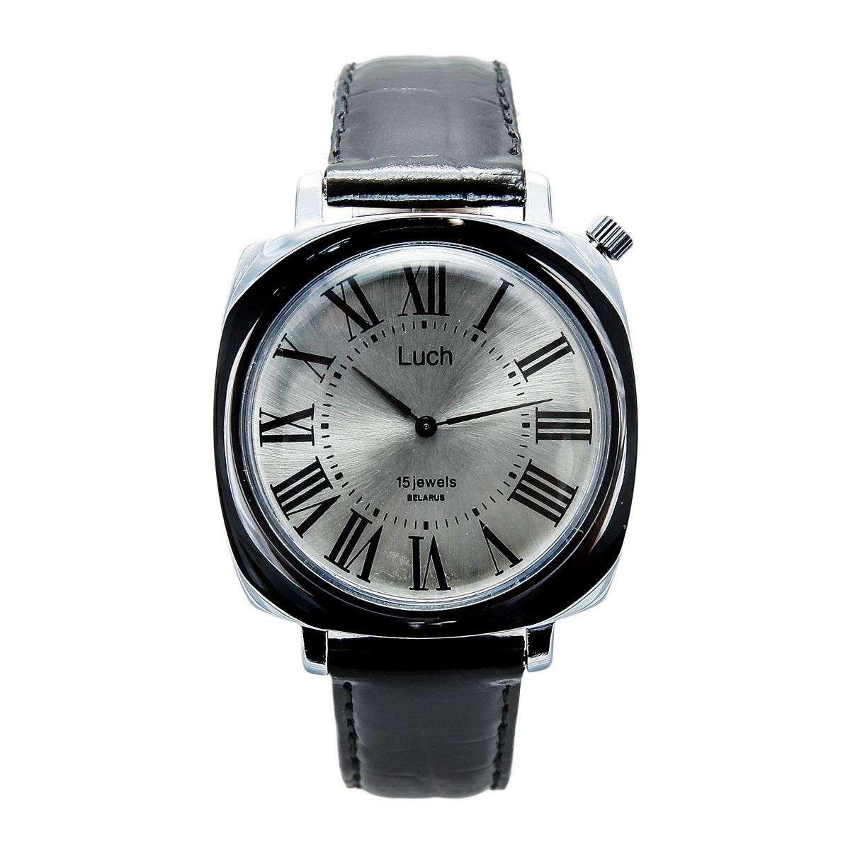 Zakazat.ru: Наручные часы мужские Луч Классическая коллекция, цвет: серебряный, черный. 37581253