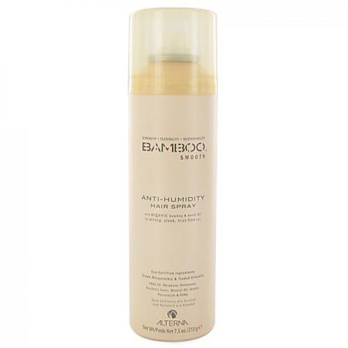 Alterna Полирующий лак для волос Bamboo Smooth Anti-Humidity Hair Spray - 250 млFS-00897Спрей Alterna Bamboo Smooth Anti-Humidity Hair Spray защищает волосы от внешнего негативного воздействия, благодаря тому, что богато жирными кислотами ряда Омега-3,6,9, антиоксидантами и токоферолами. Масло семян подсолнечника: защита от ультрафиолетовых лучей, придает волосам блеск и разглаживает их. Не утяжеляет волосы. Экстракты: фенхеля, японской васаби, водорослей и моркови. Масло гавайского орехового дерева кукуи: увлажняет волосы и придает им шелковистость. Результат: спрей обладает ультра сухой формулой, обеспечивает волосам защиту от влажного воздуха и придает волосам подвижную фиксацию. В условиях повышенной влажности он действует в виде барьера, помогая предотвратить появления завитков. Не склеивает волосы и не делает их жесткими.