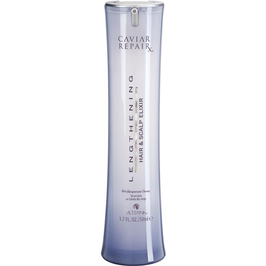 Alterna Эликсир Быстрый рост волос Caviar Repair Rx Lengthening Hair and Scalp Elixir - 50 млFS-54102Питательный эликсир лечит волосы и кожу головы, применяется для максимальной активизации роста волос. Эта мягкая сыворотка помогает избежать ломкости волос. Она активно воздействует на корни и предотвращает поломку за счет необходимого питания корней и кожи головы. Так же эликсир улучшает состояние волос по всей длине, делает их мягкими и гладкими. Легкая и быстровпитывающаяся формула способствует удлинению и усилению волос уже через 2 недели!
