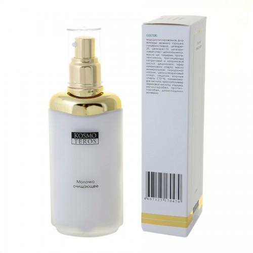 Kosmoteros Lait nettoyant - Молочко очищающее 80 млFS-00897Высокоэффективное средство для быстрого очищения кожи лица, шеи и декольте.Поддерживает необходимый уровень увлажнения кожи,подавляет активность фермента эластазы, разрушающей эластин, сохраняя целостность гидролипидной пленки,придает коже ощущение чистоты и свежести.Основные активные компоненты: Hyasealon 1, 0%, Proteasyl 3, 0%, масла: ши, миндальное, лецитин.Показания к применению: для бережного очищения кожи любого типа.