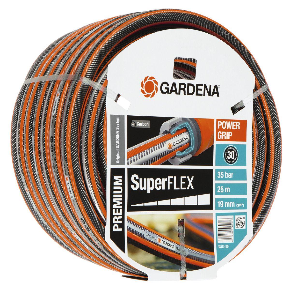 Шланг Gardena Superflex, диаметр 3/4, длина 25 м шланг raco classic 3 4x25m 40306 3 4 25