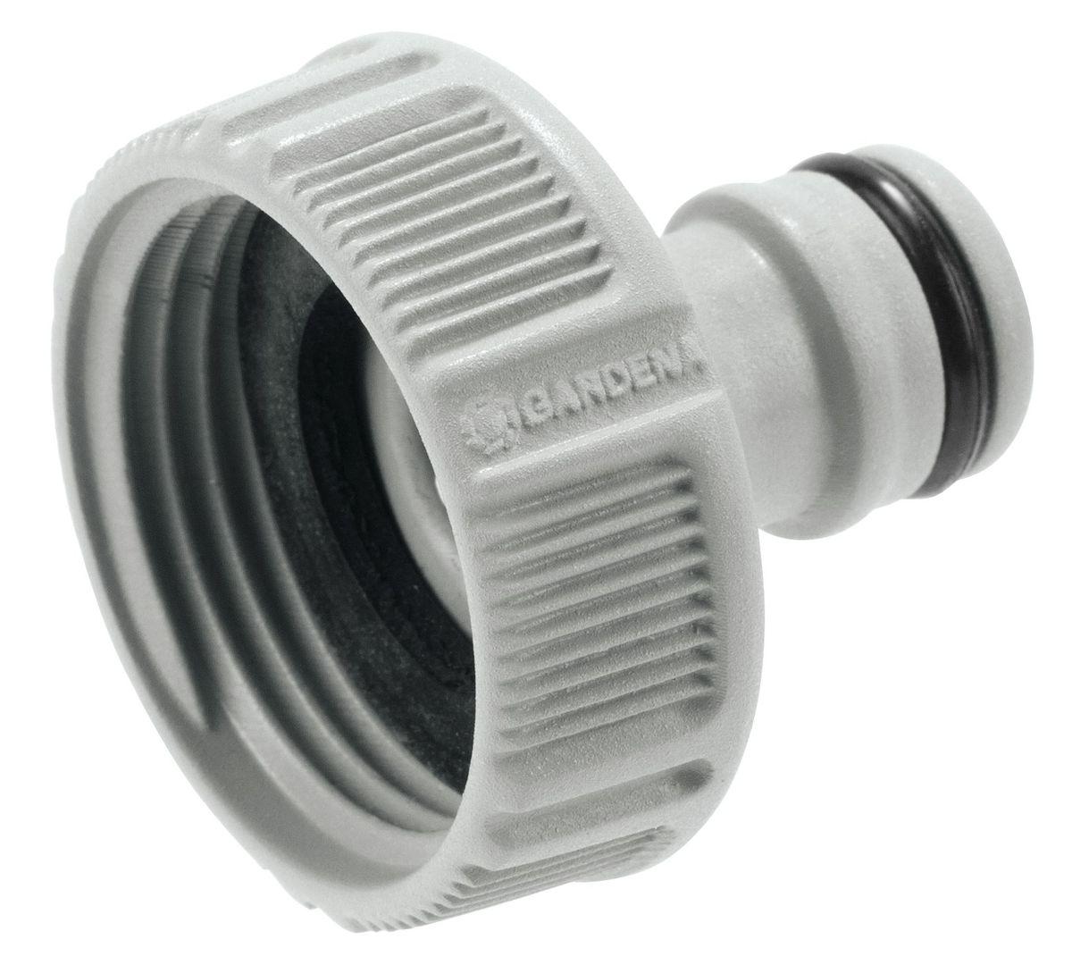 Штуцер резьбовой Gardena, 1А00319Штуцер резьбовой Gardena позволяет быстро и легко нарастить шланг или подключить необходимый аксессуар. Все соединения герметичны. Легко устанавливается и не требует использования инструментов. Для кранов диаметром 26,5 мм (G 3/4) с резьбой 33,3 мм ( G 1).