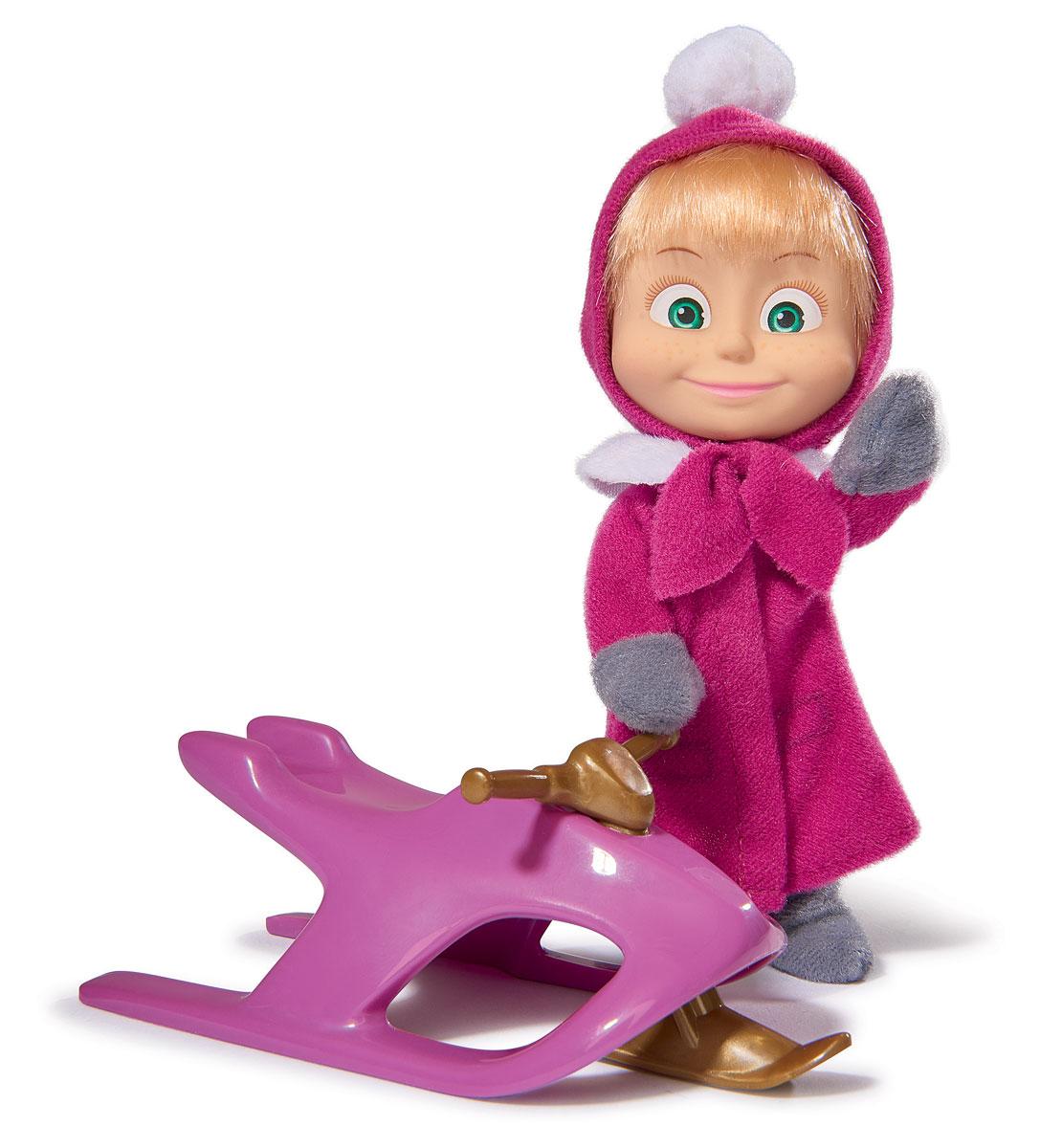 Simba Игровой набор Маша со снегокатом
