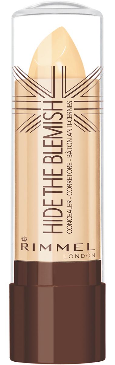 Rimmel Корректирующий Карандаш для лица `hide The Blemish` 001 тон,5,2 мл34776203001Кремовая текстура для легкого нанесения на кожу. Маскирует покраснения и несовершенства кожи. Можно использовать как базу под тени для большей стойкости и насыщенности цвета.