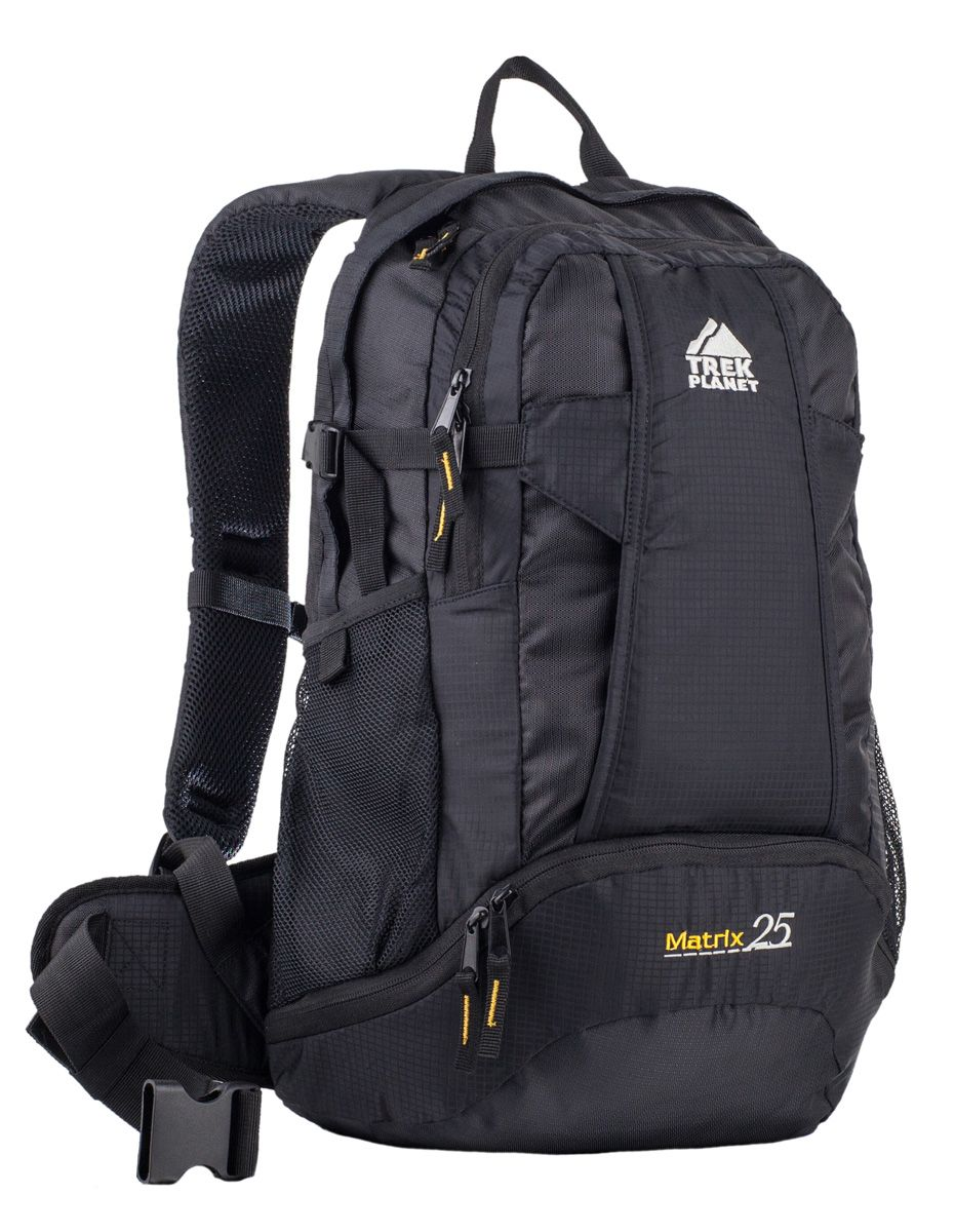 Рюкзак спортивный Trek Planet Matrix 25, цвет: черный