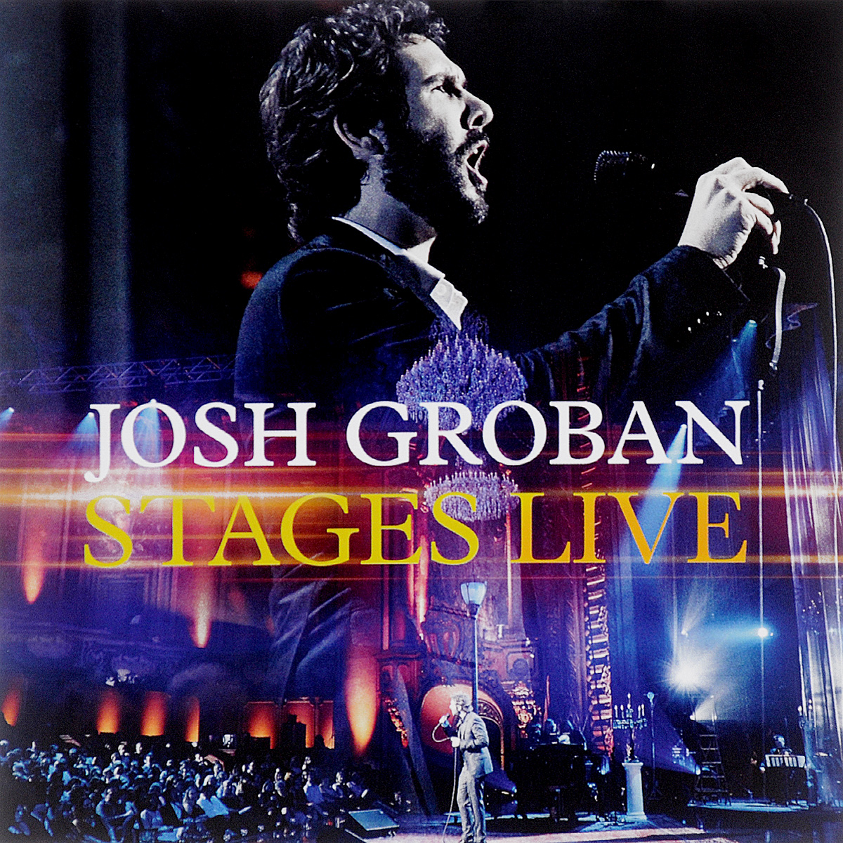 Джош Гробан Josh Groban. Stages Live (CD + DVD) yes yes in the present live from lyon 2 cd dvd