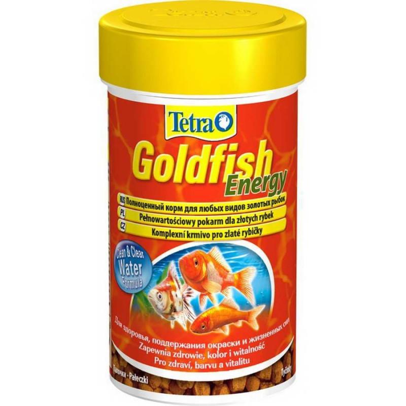 Корм для золотых рыбок Tetra Goldfish Energy, энергетический, палочки, 250 мл (93 г)0120710Корм Tetra Goldfish Energy - это высококачественный сбалансированный питательный корм, выполненный в виде палочек, для всех видов золотых рыбок, а также других видов холодноводных рыб. Корм обеспечивает оптимальное количество жира, которое легко усваивается организмом и служит запасным источником энергии. Формула Clean & Clear Water улучшает усвояемость корма и сокращает количество экскрементов рыб, обеспечивая чистоту и прозрачность воды. Запатентованная БиоАктив-формула стимулирует здоровое состояние иммунной системы и обеспечивает высокую продолжительность жизни. Кормить несколько раз в день маленькими порциями. Состав: растительные продукты, рыба и побочные рыбные продукты, зерновые культуры, дрожжи, экстракты растительного белка, моллюски и раки, масла и жиры, минеральные вещества. Аналитические компоненты: сырой белок 38%, сырые масла и жиры 9%, сырая клетчатка 2%, влага 7%. Добавки: витамины, провитамины и химические вещества с аналогичным воздействием: витамин A 28800 МЕ/кг, витамин Д3 1800 МЕ/кг. Комбинации микроэлементов: Е5 марганец 81 мг/кг, Е6 цинк 48 мг/кг, Е1 железо 32 мг/кг. Красители, антиоксиданты. Товар сертифицирован.