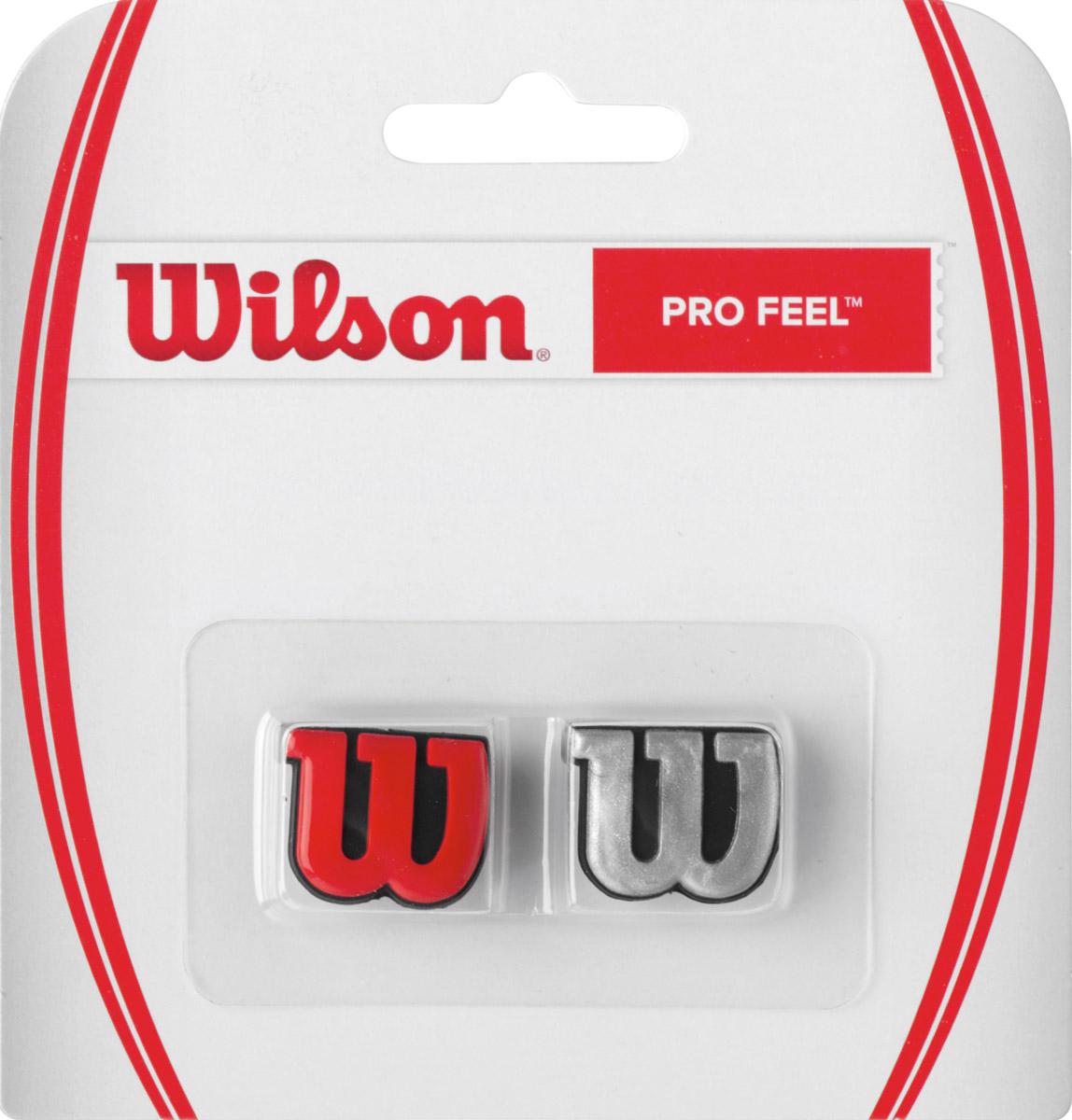 Виброгаситель Wilson Profeel Rdsi20606Классика Wilson. Виброгаситель в форме основного символа бренда W, обеспечивает комфорт и обладает минимальным весом.