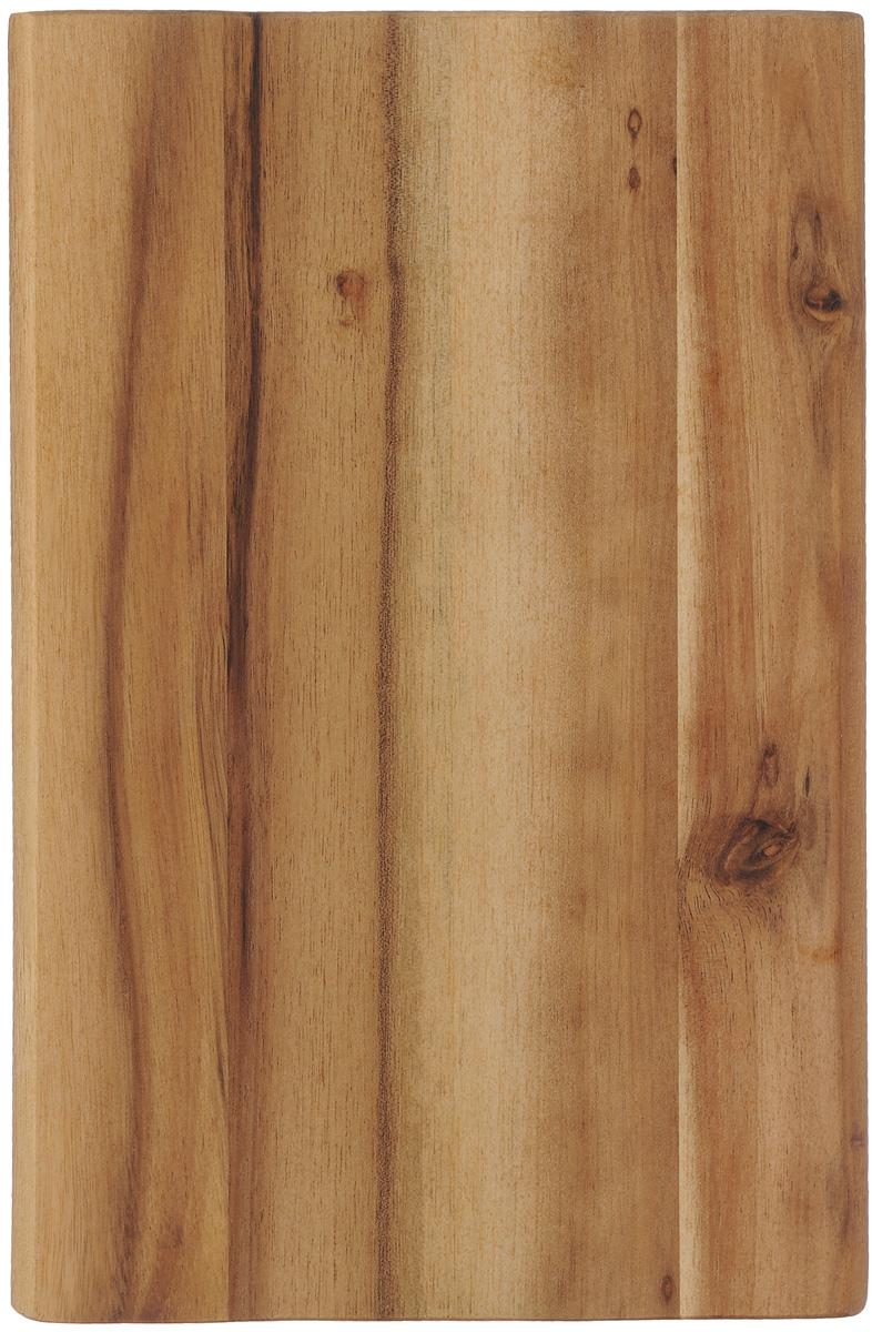 Доска разделочная Kesper, 23 х 15 см1072292Разделочная доска Kesper изготовлена из натуральной древесины акации. Благодаря среднему размеру, на ней удобно разделывать различные продукты, и она не занимает много места при хранении.Функциональная и простая в использовании разделочная доска Kesper прекрасно впишется в интерьер любой кухни и прослужит вам долгие годы. Для мытья использовать неабразивные моющие средства.