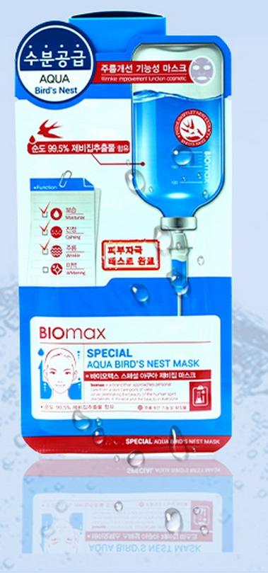 BioMax Увлажняющая маска с экстрактом ласточкиного гнезда Special, 25 гFS-00897Маска-салфетка из целлюлозы является гипоаллергенным средством, она плотно прилегает к коже и способствует лучшему проникновению полезных компонентов. Экстракт ласточкиного гнезда – источник минералов, полисахаридов и антиоксидантов. Он также богат аминокислотами, которые увеличивают эластичность кожи. Экстракт ласточкиного гнезда повышает кожный иммунитет и сопротивляемость негативному воздействию УФ излучения.Маска регулирует водно-жировой баланс кожи лица, интенсивно увлажняет и создает на коже барьер, препятствующий потере влаги.Экстракт ласточкиного гнезда – источник минералов, полисахаридов и антиоксидантов. Он также богат аминокислотами, которые увеличивают эластичность кожи.