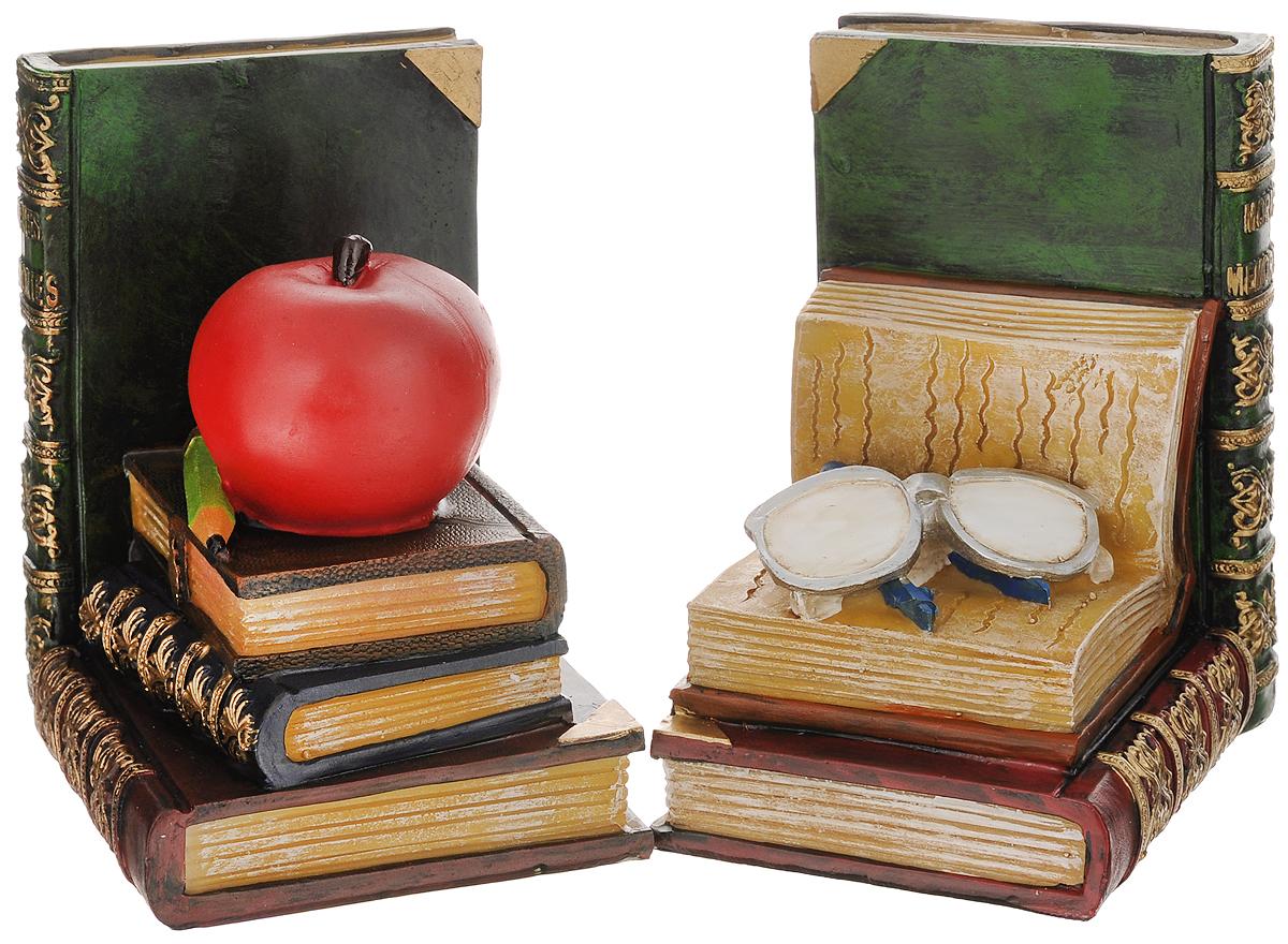 Подставка-ограничитель для книг Феникс-презент Наука, 2 шт36133_белые очкиПодставка-ограничитель для книг Наука, изготовленная из полирезины, состоит из двух частей, с помощью которых можно подпирать книги с двух сторон. Между ограничителями можно поместить неограниченное количество книг. Подставка-ограничитель для книг Наука - это не только подставка для книг, но и интересный элемент декора, который ярко дополнит интерьер помещения. Размер одной части подставки-ограничителя: 11,5 х 9,5 х 14,5 см.Комплектация: 2 шт.