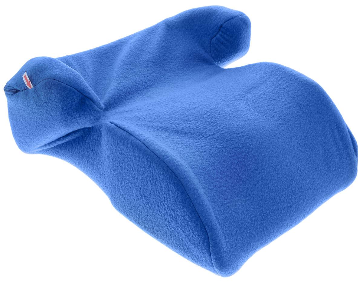 Sapfire Бустер 22-36 кг цвет синийSM/DK-400 EzhikДетское автокресло Sapfire разработано для детей весом от 22 до 36 кг (приблизительно возраст ребенка от 6 до 12 лет).Устанавливается на любое, кроме переднего ряда, посадочное место, оборудованное диагонально-поясным ремнем безопасности. Неровная поверхность нижней части бустера препятствует скольжению по сиденью автомобиля. Анатомическая посадочная верхняя часть бустера позволяет длительно использовать его при поездке на дальние расстояния, а боковая поддержка удерживает ребенка при боковых перемещениях. Данный бустер не вызывает охлаждение мочеполовой системы ребенка при минусовых температурах в отличии от пластиковых бустеров. Если возникает необходимость, вы можете использовать бустер за любым обеденным столом, так как укороченная передняя часть позволяет вплотную придвинуться грудью к столу. И самое главное - избавит вас от необходимости искать в кафе детский стульчик. Чехол кресла на застежке-молнии, легко снимается и стирается.Правильная установка и применение в соответствии с инструкцией данного детского автомобильного сиденья обеспечит вам безопасную перевозку ребенка в автомобиле.