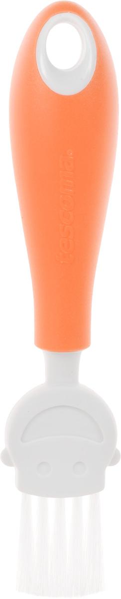 Кисть кулинарная Tescoma Funny Mummy, цвет: оранжевый, длина 17 см391602Кулинарная кисть Tescoma Funny Mummy станет вашим незаменимым помощником на кухне. Рабочая часть кисточки выполнена из мягкого нейлонового волокна, ручка изготовлена из полипропилена. Изделие оснащено петелькой для подвешивания. Кисть Tescoma Funny Mummy - практичный и необходимый подарок любой хозяйке!Длина кисти: 17 см.Размер рабочей части: 3 х 3 см.