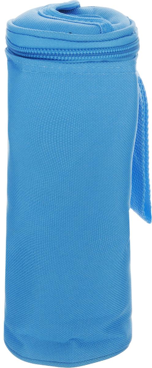 Сумка-холодильник для бутылок Tescoma Coolbag, цвет: голубой, 8,5 х 8,5 х 22 см468758Сумка-холодильник Tescoma Coolbag, изготовленная из прочного полиэстера и предназначена для сохранения температуры напитков. Сумка-холодильник имеет одно вместительное отделение. Благодаря отверстию для горлышка, емкость можно открыть в любое время, не доставая ее из сумки. Изделие идеально подходит для ПЭТ бутылок объемом 0,5 литра.Внутри сумки расположена теплоизолирующая подкладка из алюминиевой фольги. Сумка закрывается на молнию и имеет ремень для удобной переноски. Она прекрасно подходит для походов на пляж, пикников и поездок за город. С такой сумкой напитки дольше остаются охлажденными. Рекомендуется только ручная стирка.Использование в посудомоечной машине и глажка запрещены. Размер сумки-холодильника: 8,5 х 8,5 х 22 см.