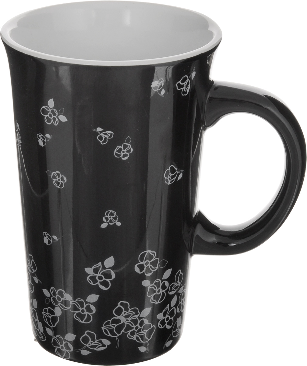 Кружка House & Holder Цветы, цвет: черный, белый, 350 мл54 009312Кружка House & Holder Цветы изготовлена из высококачественной керамики. Внешняя поверхность оформлена изображениями цветов. Такая кружка порадует вас дизайном и функциональностью, а пить чай из нее станет еще приятнее.Объем: 350 мл.Диаметр кружки (по верхнему краю): 8,5 см.Высота кружки: 13 см.
