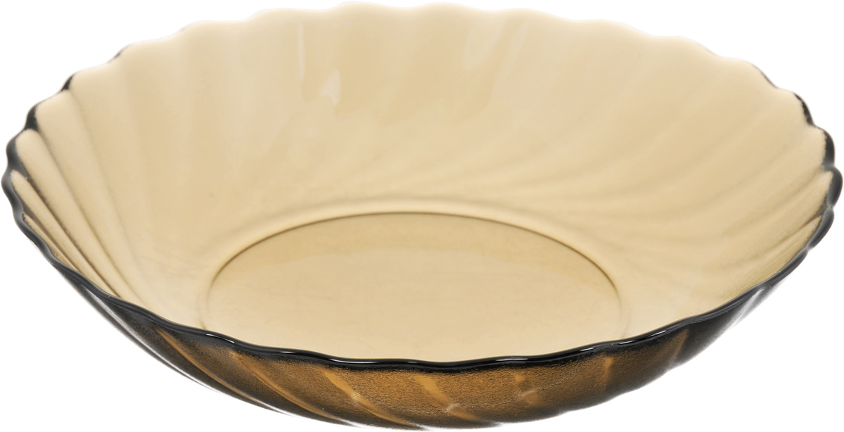 Тарелка глубокая Luminarc Ocean Eclipse, диаметр 20,5 см115510Глубокая тарелка Luminarc Ocean Eclipse выполнена из ударопрочного стекла и оформлена рельефом.Изделие сочетает в себе изысканный дизайн с максимальнойфункциональностью. Она прекрасно впишется винтерьер вашей кухни и станет достойным дополнениемк кухонному инвентарю. Тарелка Luminarc Ocean Eclipse подчеркнет прекрасный вкус хозяйкии станет отличным подарком. Можно использовать в микроволновой печи и холодильнике, а также мыть в посудомоечной машине. Диаметр тарелки: 20,5 см.