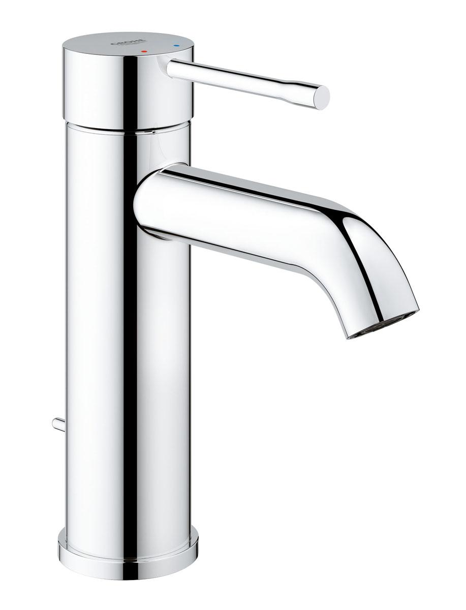 Смеситель для раковины Grohe Essence+, с низким изливом и донным клапаном34183Цилиндрический дизайн однорычажного смесителя Grohe Essence+ станет идеальным дополнением в любой ванной, от современного до более традиционного дизайна. Спроектированный с применением технологий GROHE, таких как технология для керамических картриджей SilkMove, стильный моноблочный смеситель будет дарить наслаждение от использования и будет долго служить вам, поэтому он идеально подходит для семейных ванных комнат. Многослойное, устойчивое к царапинам хромовое покрытие StarLight сохранит свой блеск на долгие годы. Монтаж на одно отверстие осуществляется очень быстро с инновационной системой QuickFix Plus, до 50% быстрее. Благодаря технологии EcoJoy расход смесителя составляет всего 5,7 л/мин - сохраняя ваши деньги и воду.