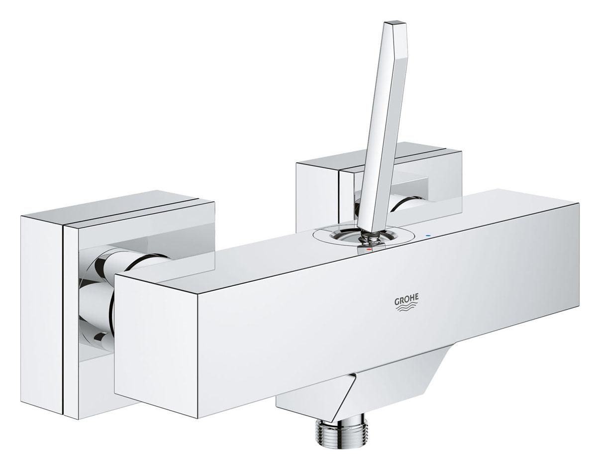 Смеситель для душа Grohe Eurocube Joy. 2366500023161000Четкие кубические линии и фантастическая цена минималистичного смесителя для душа Grohe идеально подойдут для тех, кто хочет сдержанную и современную ванную комнату. Многослойное, устойчивое к царапинам хромовое покрытие StarLight сохранит свой блеск на долгие годы.