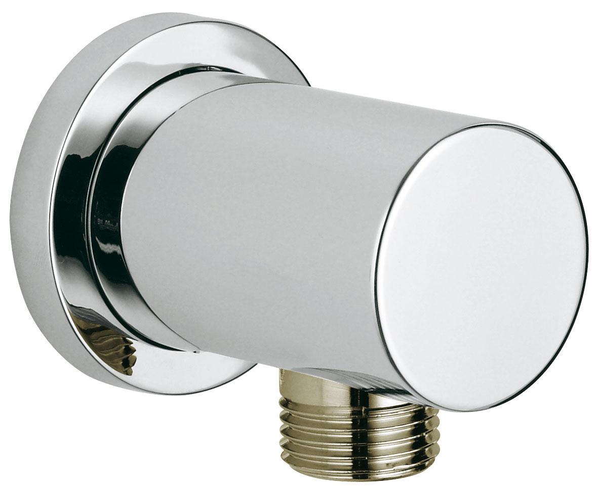 Подключение для душевого шланга GROHE Rainshower с круглой розеткой (27057000)34551внешняя резьбас круглой розеткой