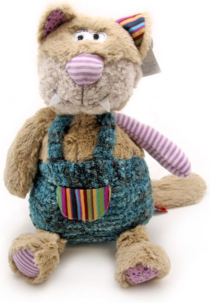 Magic Bear Toys Мягкая игрушка Кот Оливер 24 см мягкая игрушка magic bear toys тигр 60 см