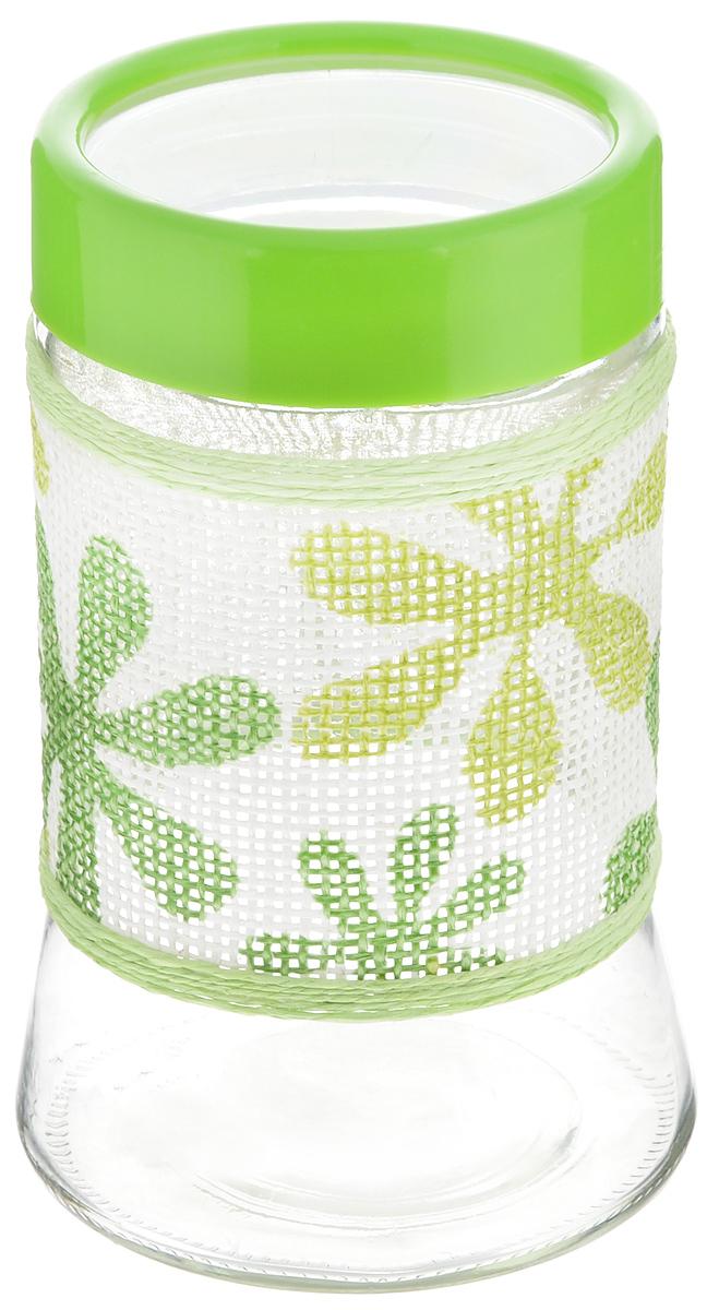 Банка для сыпучих продуктов Loraine, 1 л. 21616R2S081/VHCT-ALБанка для сыпучих продуктов Loraine изготовлена из высококачественного стекла. Прозрачные стенки позволяют видеть содержимое. Пластиковая крышка плотно и герметично закрывается, что позволяет дольше хранить продукты. Изделие подходит для кофе, сахара, чая, печенья, орехов, круп и других сыпучих продуктов. Практичное и полезное приобретение для вашей кухни. Высота банки: 18 см.Диаметр банки (по верхнему краю): 9 см.