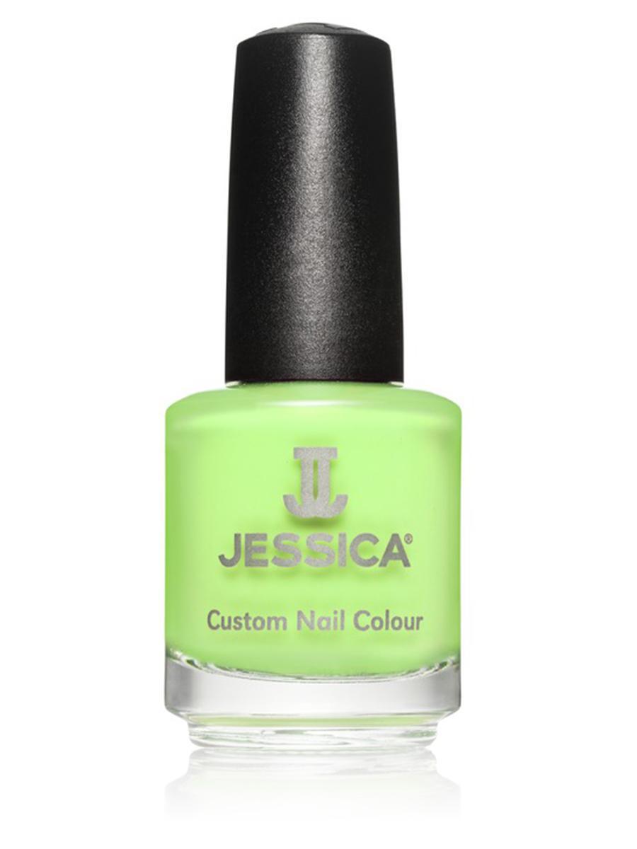 Jessica Лак для ногтей №789 Radioactive 14,8 мл1301210Лаки JESSICA содержат витамины A, Д и Е, обеспечивают дополнительную защиту ногтей и усиливают терапевтическое воздействие базовых средств и средств-корректоров.
