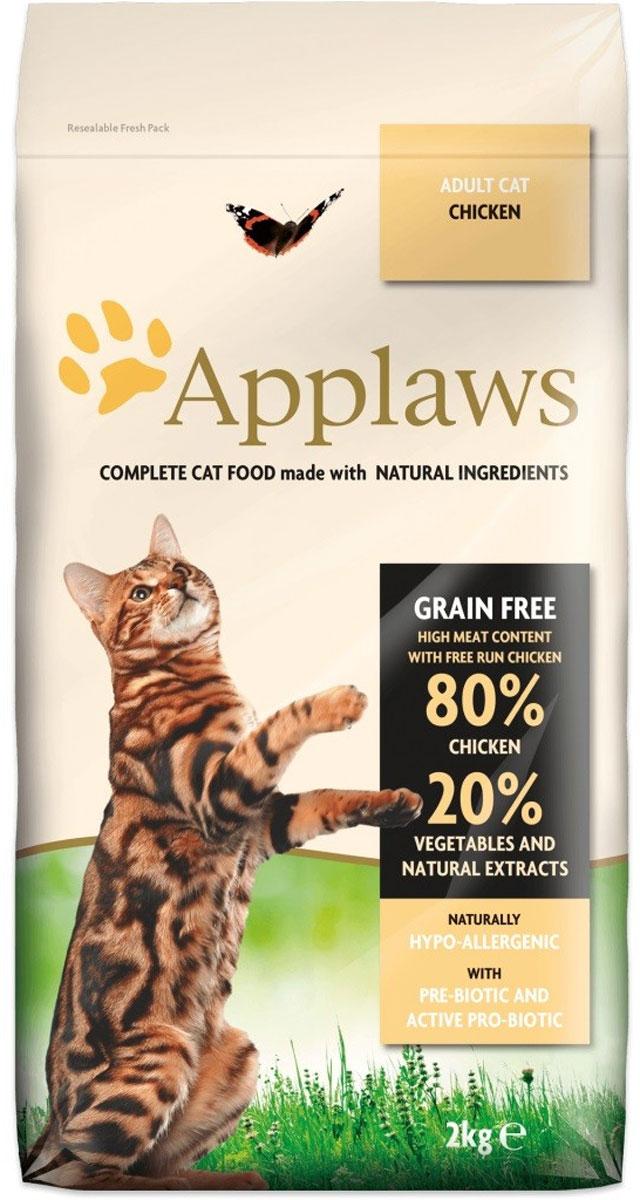 Беззерновой для Кошек Курица/Овощи: 80/20% (Adult Cat Chicken), 2 кг101246Беззерновая линейка Холистик кормов для кошек Applaws изготовлена по особым рецептам, разработанными диетологами института Великобритании. Правильная диета очень важна для питомцев, ведь она меняется в зависимости от жизненного цикла. Также полнорационные корма должны включать в себя необходимое количество витаминов и минералов. В рецептах сухих кормов Applaws учтен не только перечень наиболее необходимых минералов и витаминов, но и их строгий баланс. Так как сухой корм изготавливается только из натуральных качественных ингредиентов, крокеты привлекут внимание любого, даже очень привередливого питомца. Состав: Дегидрированное мясо цыпленка (мин. 59%), молодой картофель (мин. 4%), мелкорубленное свежее филе цыпленка (мин. 9%), жир домашней птицы (мин. 9% - источник омега 6), подлива с мяса птицы приготовленной в собственном соку (мин. 3%), свекла (мин. 3%), яичный порошок (мин. 3%), пивные дрожжи, лососевый жир (источник Омега 3), минералы, клетчатка (мин. 0,4%), хлорид натрия, карбонат кальция, сушеные водоросли, клюква, DL - метионин, хлористый калий, экстракт Юкка Шидегера, экстракт из цитрусовых, розмарин. Пищевые добавки: Витамин А 25,305 МЕ/кг, Витамин D3 1,745 МЕ/кг, Витамин Е 558 МЕ/кг. Микроэлементы:Селен (селенит натрия) 0,13 мг/кг, Йод (безводный иодат кальция) 1,75 мг/кг, Железо (сульфат железа моногидрат) 61 мг, медь (сульфат меди пентагидрад) 9мг/кг, марганец (сульфат марганца моногидрат) 26 мг/кг, Цинк (сульфат цинка моногидрат) 140 мг/кг. Прочие добавки: натуральный консервант – Токоферол. Гарантированный анализ: Белки 47%, Жиры 20%, Клетчатка 2,0%, Зола 9,9%, Кальций 2%, Фосфор 1,6%, Таурин 2000 мг/кг < 13,5 Углеводов. Условия хранения: в прохладномтемном месте