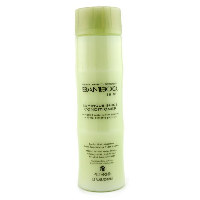 Alterna Кондиционер для сияния и блеска волос Bamboo Luminous Shine Conditioner - 250 млFS-00897Кондиционер для блеска волос Alterna Bamboo Luminous Shine Conditioner с экстрактом бамбука наполняет каждую прядь ваших волос необходимыми питательными и жизненно важными элементами. Кондиционер отлично увлажняет волосы, придает им здоровый вид и насыщает их ослепительным блеском.После регулярного применения кондиционера с экстрактом бамбука, ваши волосы станут мягкими и шелковистыми, приобретут здоровый блеск и будут насыщены необходимыми питательными и увлажняющими элементами.