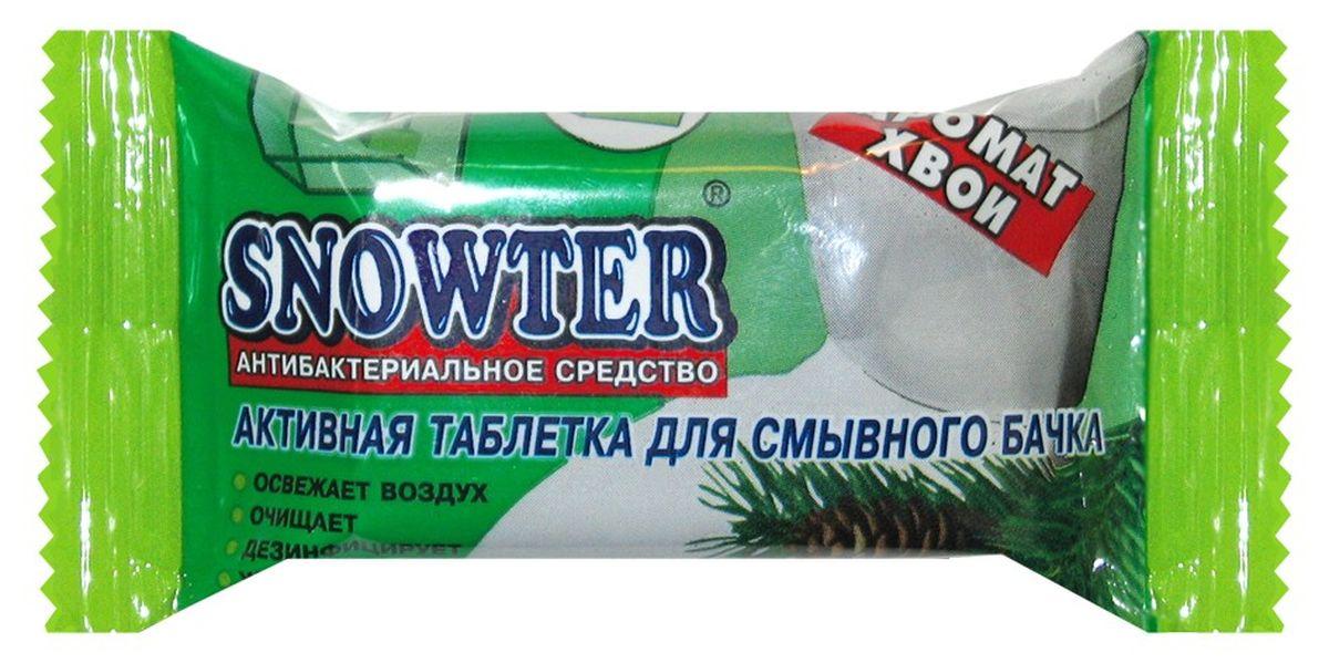 Таблетка для смывного бачка Snowter Хвоя, 50 г391602Таблетка Snowter Хвоя обеспечивает чистоту и свежесть в течении длительного времени. Вода со свежим запахом и активно действующей пеной эффективно очищает и дезинфицирует унитаз в труднодоступных местах, препятствуя образованию различных загрязнений и солевых отложений на его поверхности.Состав: анионактивные поверхностно-активные вещества, антибактериальные вещества, ароматизатор, краситель.Товар сертифицирован.