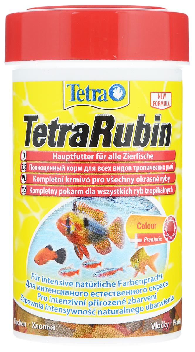 Корм Tetra TetraRubin для улучшения окраса всех видов тропических рыб, 100 мл (20 г)0120710Корм Tetra TetraRubin - биологически сбалансированный корм в виде хлопьев с натуральными добавками для усиления естественной окраски рыб. Высокое содержание усилителей естественного цвета и специальных ингредиентов обеспечивает красивый окрас для всех красных, оранжевых и желтых тропических рыб. Эффект усиления цвета заметен уже через две недели кормления. Корм содержит полноценный сбалансированный комплекс витаминов, питательных веществ и микроэлементов. Запатентованная БиоАктив-формула поддерживает работоспособность иммунной системы, обеспечивая высокую продолжительность жизни. Стабилизированный витамин С обеспечивает повышенную устойчивость организма рыбы к болезням, ускоряет рост и устраняет симптомы болезней, связанных с недоеданием. Кормить несколько раз в день небольшими порциями. Состав: рыба и побочные рыбные продукты, зерновые культуры, дрожжи, экстракты растительного белка, моллюски и раки, масла и жиры, сахар (олигофруктоза 0,9%), водоросли, минеральные вещества. Аналитические компоненты: сырой белок 46%, сырые масла и жиры 11%, сырая клетчатка 2%, влага 6%. Добавки: витамины, провитамины и химические вещества с аналогичным воздействием: витамин А 40820 МЕ/кг, витамин Д3 2320 МЕ/кг. Комбинации микроэлементов: Е5 марганец 78 мг/кг, Е6 цинк 46 мг/кг, Е1 железо 30 мг/кг. Красители, антиоксиданты. Товар сертифицирован.