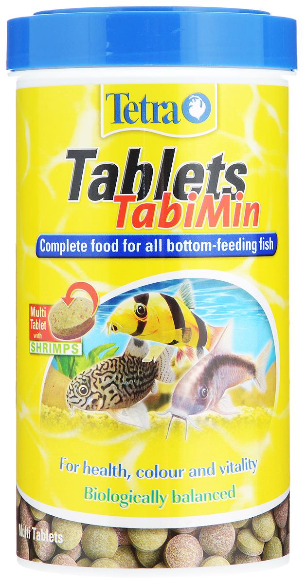 Корм Tetra Tablets TabiMin для всех видов донных рыб, 500 мл (310 г), 1040 таблеток759121Корм Tetra Tablets TabiMin - полноценный основной корм в виде таблеток для всех видов донных рыб: сомов, боций, придонных барбусов. Таблетки быстро опускаются на дно или могут быть размещены в необходимом месте. Они медленно размягчаются, высвобождая корм. Отлично подходят для донных, а также пугливых рыб. Новая формула универсальных таблеток содержит креветки для улучшенного вкуса. Содержание витамина С улучшает иммунную систему организма рыб, ускоряет рост и устраняет симптомы недоедания. Корм содержит все необходимые питательные вещества, жиры и микроэлементы. Кормить несколько раз в день небольшими порциями. Товар сертифицирован.