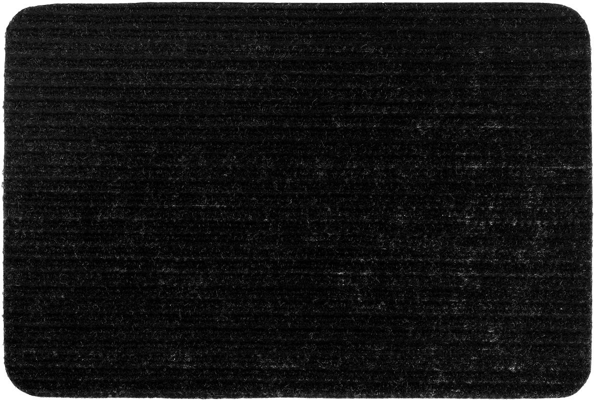 Коврик придверный Vortex Simple, влаговпитывающий, цвет: черный, 60 х 40 смES-412Влаговпитывающий придверный коврик Vortex Simple, выполненный из полипропилена, предназначен для использования внутри и снаружи помещения.Такой коврик надежно защитит помещение от уличной пыли и грязи.