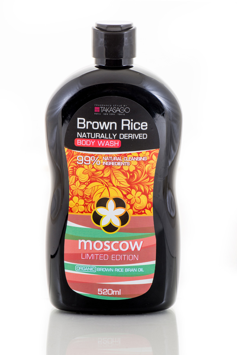 Brown Rice Гель для душа Moscow Naturally Derived, 520 мл