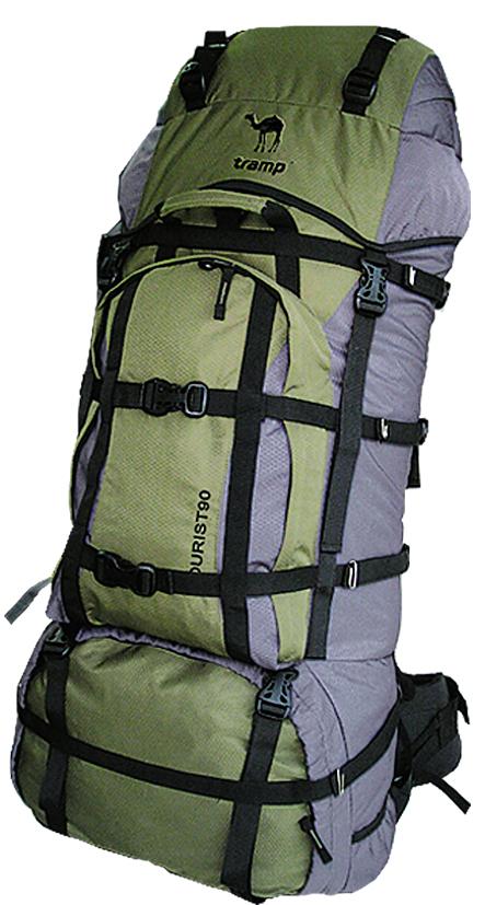 Рюкзак туристический Tramp Tourist, цвет: серый, хаки, 90 лTRP-001.04Рюкзак Tramp Tourist - это рюкзак для серьезных и длительных походов с двумя отделениями. Выполнен из полиэстера.Особенности:- Внутренняя перегородка на молниях.- Система спины PVS.- Регулируемая подвесная система.- Съемный клапан с двумя карманами.- 2 отделения с внутренней перегородкой на молнии.- Карман на лицевой стороне с компрессионными стяжками.- Ремни для крепления груза.- Анатомические плечевые ремни.- Мягкий съемный анатомический пояс.- Грудная стяжка.В комплекте накидка от дождя. Объем: 90 л.Полный вес: 2,6 кг. Материал: Polyester Honeycomb Ripstop 600D.
