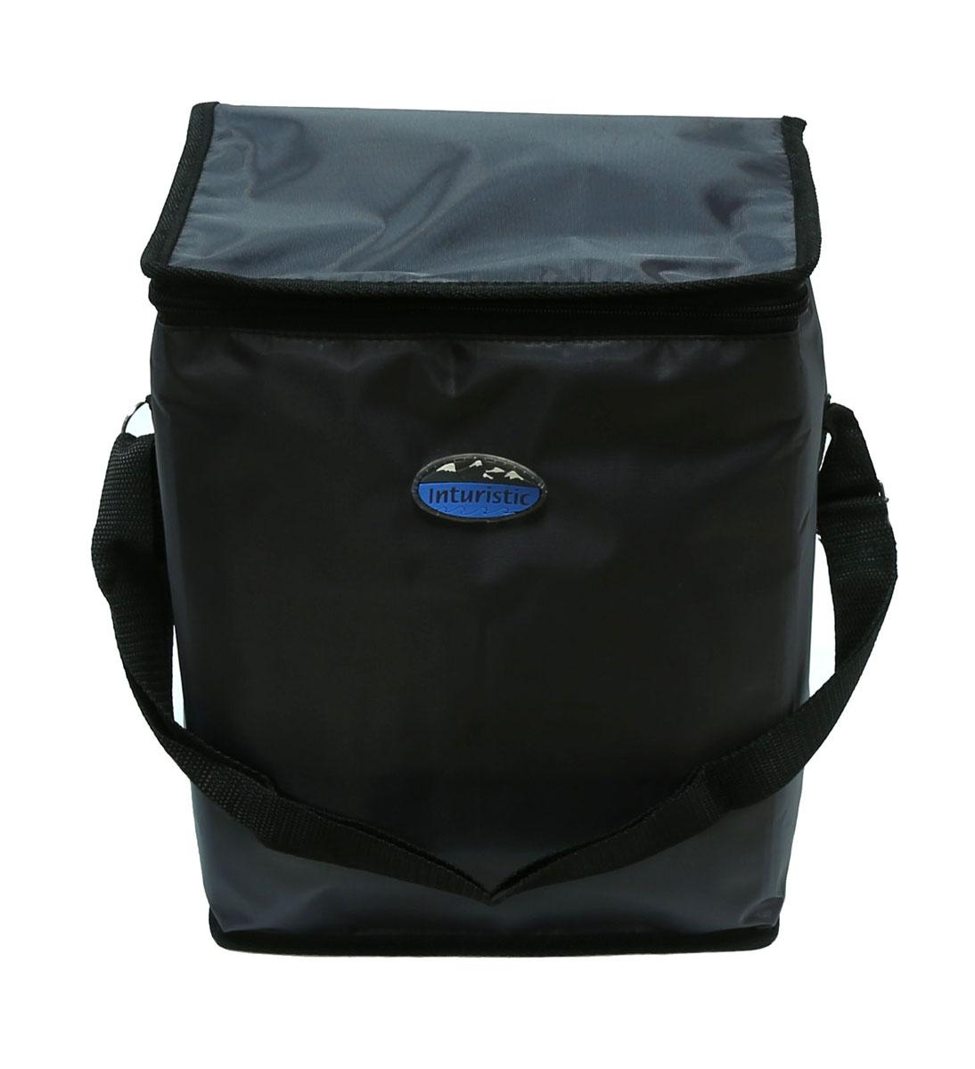 Сумка изотермическая Inturistic, цвет: серый, 17 лAS 25Изотермическая сумка Inturistic поможет сохранить температуру пищи и напитков в течение нескольких часов. Она будет удобна при поездках на дачу, на пикник и дальних путешествиях. Коэффициент теплового отражения не менее 90%. Температурный диапазон от -60°С до 140°С. Вмещает по высоте до 6 ПЭТ бутылок емкостью 1,5 л с прохладительными напитками. Наибольший эффект достигается при использовании аккумуляторов холода. Имеется карман для аккумулятора холода. Карман можно использовать для переноски необходимых мелочей. Сумка удобна для переноски контейнеров с едой и ланч боксов.Материал: Oxford ПВХ, тепло/гидроизоляционный материал, термостойкая изоляция.Объем сумки: 17 л.Размер сумки: 26 х 20 х 32 см.