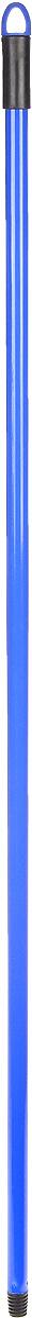 Рукоятка металлическая Banat, цвет: синий, длина 120 см531-105Рукоятка Banat изготовлена из металла с цветным покрытием. Предназначена для крепления различных насадок и швабр. Снабжена отверстием для подвеса. Имеет стандартную резьбу, подходящую к большинству видов насадок. Диаметр рукоятки: 2 см. Длина рукоятки: 120 см.