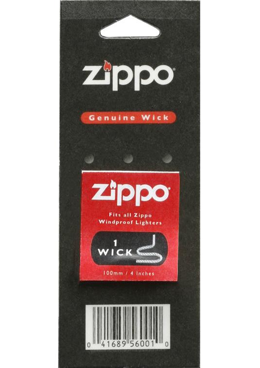 Фитиль Zippo. 24252425Фитиль для зажигалок Zippo– является одним из немногих элементов, необходимых для эффективной работы зажигалки Zippo. Надежный фитиль имеет длительный срок службы. В случае необходимости фитиль легко заменить самостоятельно. Подходит к любой зажигалке Zippo. Фитиль изготовлен из особого полимерного материала с вплетенной в него медной нитью. Фитиль Zippo удобен в обращении и призван сделать пользование зажигалкой еще более комфортным.