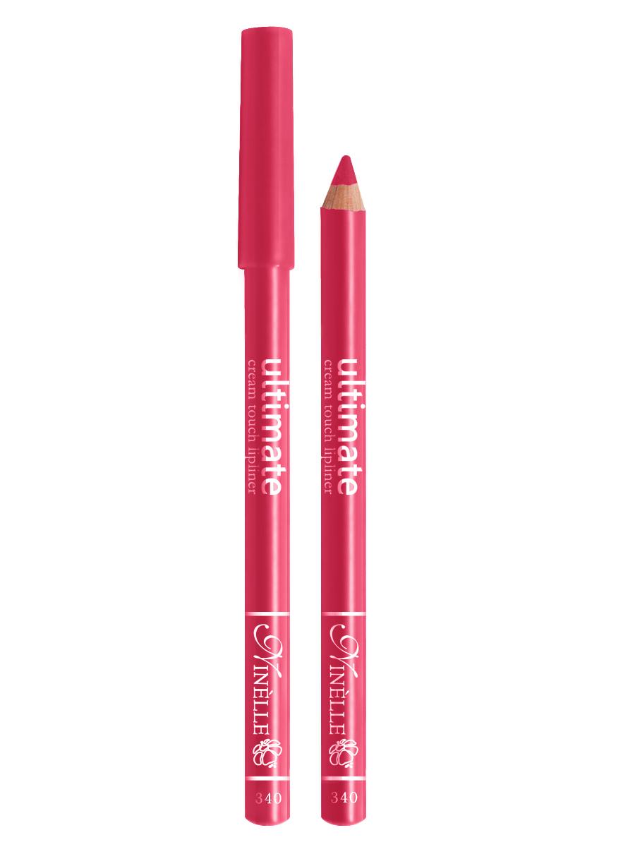 Ninelle Карандаш для губ Ultimate №340, 1,5 г29101550006Мягкий карандаш для создания идеального контура губ. Контурный карандаш с приятной, кремовой текстурой обогащен маслами и восками, смягчающими и питающими губы. Карандаш очень долго держится на губах. Позволяет моделировать контур губ, повышает стойкость губной помады или блеска, может наноситься на всю поверхность губ вместо помады. Предотвращает растекание помады или блеска.