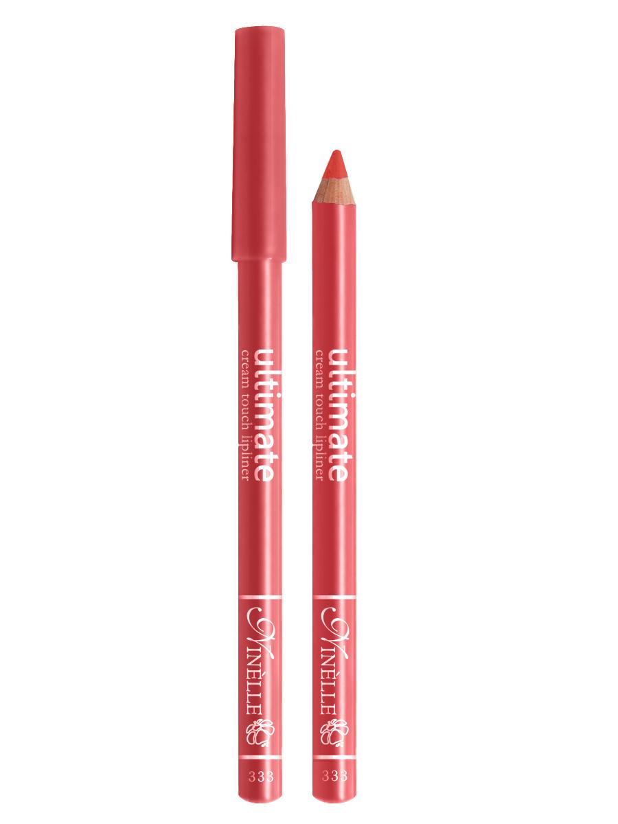 Ninelle Карандаш для губ Ultimate №333, 1,5 г1CMDC7gМягкий карандаш для создания идеального контура губ. Контурный карандаш с приятной, кремовой текстурой обогащен маслами и восками, смягчающими и питающими губы. Карандаш очень долго держится на губах. Позволяет моделировать контур губ, повышает стойкость губной помады или блеска, может наноситься на всю поверхность губ вместо помады. Предотвращает растекание помады или блеска.