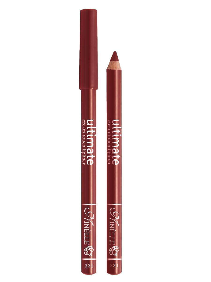 Ninelle Карандаш для губ Ultimate №331, 1,5 г29101562054Мягкий карандаш для создания идеального контура губ. Контурный карандаш с приятной, кремовой текстурой обогащен маслами и восками, смягчающими и питающими губы. Карандаш очень долго держится на губах. Позволяет моделировать контур губ, повышает стойкость губной помады или блеска, может наноситься на всю поверхность губ вместо помады. Предотвращает растекание помады или блеска.