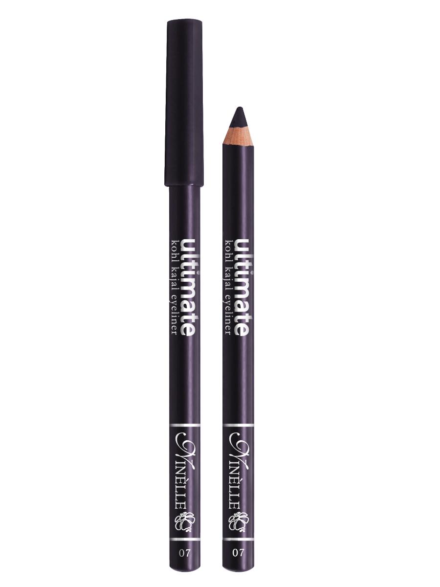 Ninelle Карандаш для глаз Ultimate №07, 1,5 гMFM-3101Мягкий и гладкий карандаш для глаз с шелковистой текстурой, позволяющий нарисовать четкую или слегка растушеванную линию. С помощью мягкого карандаша- каяла можно подводить верхнее, нижнее, а также внутреннее веко.